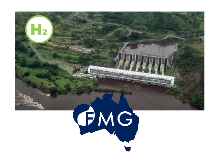 Fuel cells works, Australia's Fortescue In Talks On Giant Congo Hydro Project for Export of Hydrogen