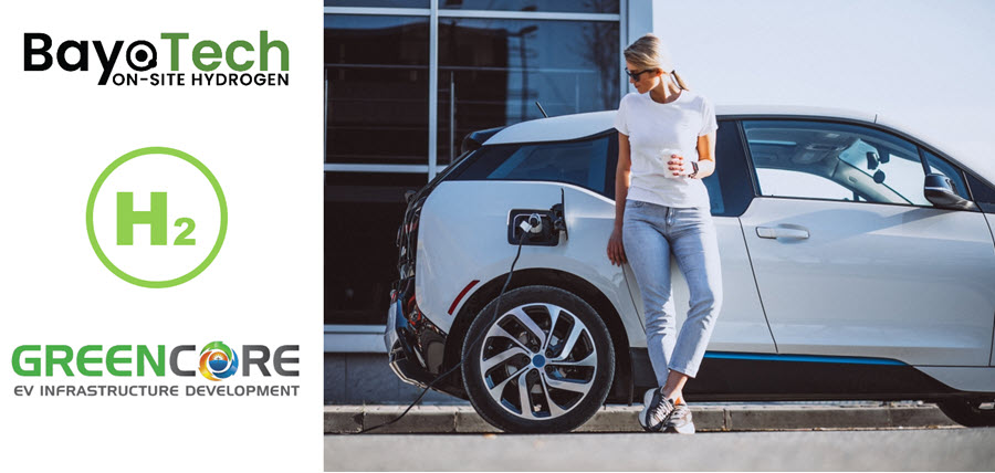 Fuel cells works, BayoTech Signs Agreement to Fuel GreenCore's 1,500 Next Generation Hydrogen Fuel Cell Powered Ev Charging Stations