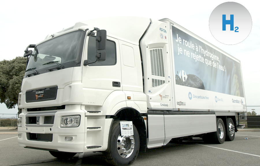 Fuel cells works, France: CATHyOPÉ Hydrogen Truck Soon on the Road for Testing Phase