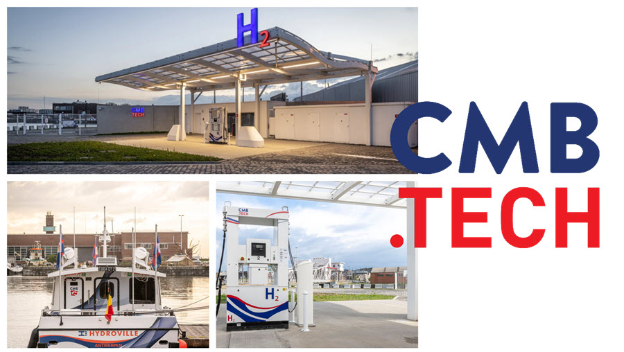 Fuel cells works, CMB.TECH Opens World's First Multimodal Hydrogen Refuelling Station and Presents the Hydrogen Truck Lenoir