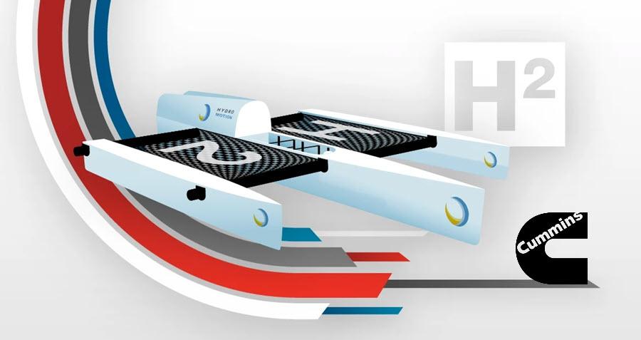fuel cells works, hydrogen, Cummins: Setting Sail on Hydrogen With Hydro Motion