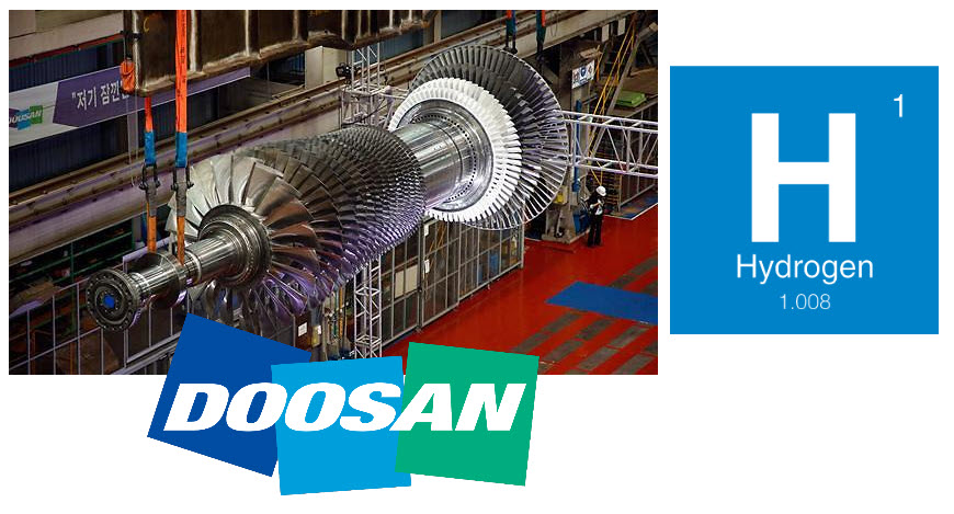 Fuel cells works, Doosan Heavy Steps Up Hydrogen Gas Turbine Development Efforts