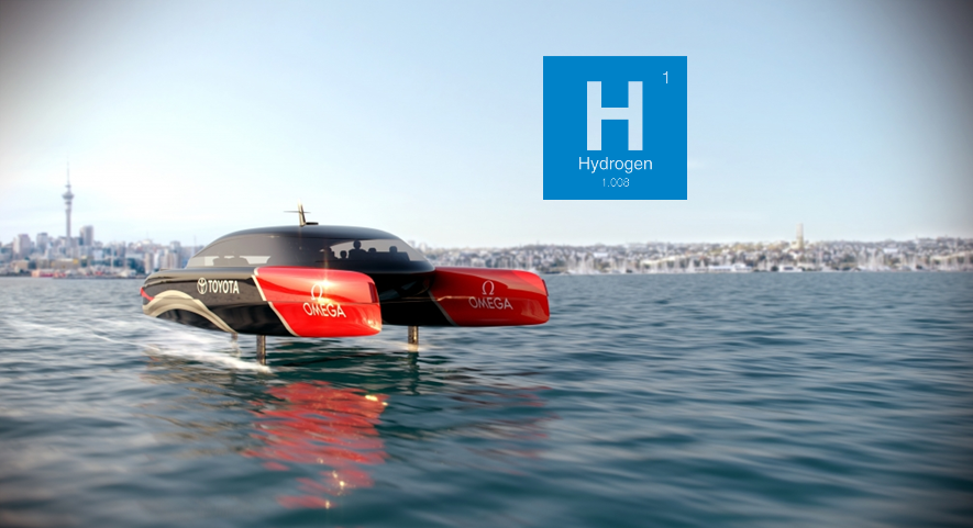 Fuel cells works, Emirates Team New Zealand to Drive Initiative in Marine Industry With Hydrogen Innovation