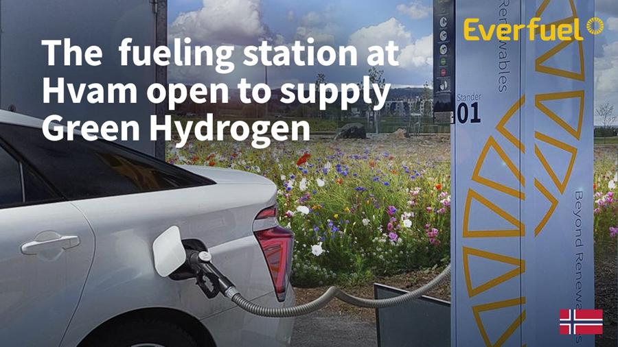 Everfuel Hvam Hydrogen Station