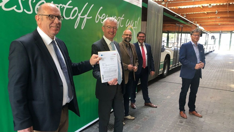 Fuel cells works, First Hydrogen-Fuel Cell Powered Buses will Soon be Delivered to Bernau