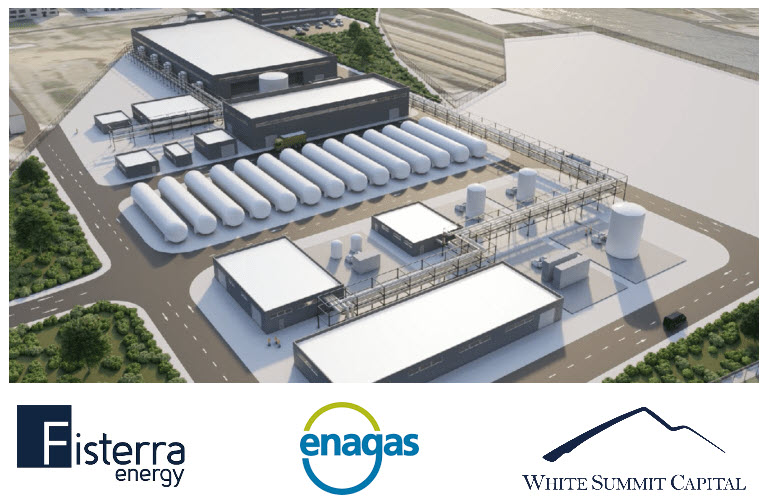 Fuel cells works, Fisterra Energy, Enagás and White Summit Capital Promote a Project to Generate Green Hydrogen in the Bay of Algeciras