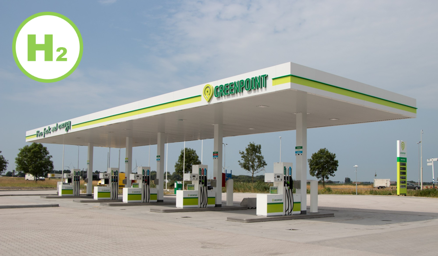 Fuel cells works, Greenpoint Starts Construction of Hydrogen Filling Station in Oude-Tonge, South Holland