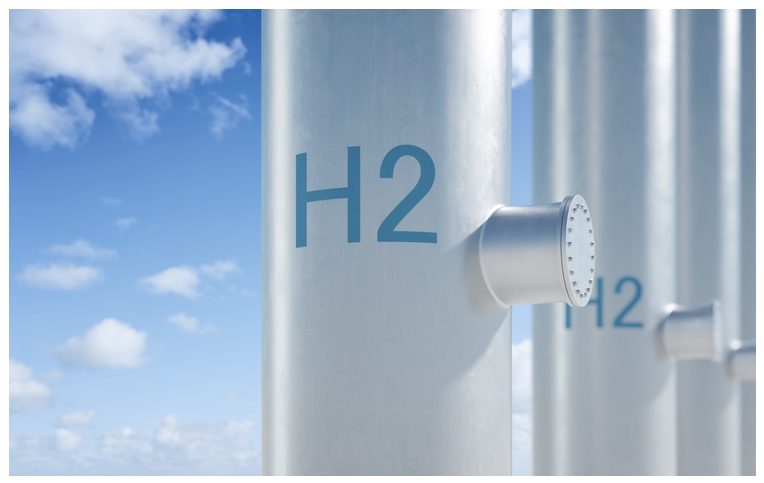 Fuel cells works, Energy Park Plate: Renewable Hydrogen Will Be Produced Through Electrolysis by Combining Wind and Solar Energy