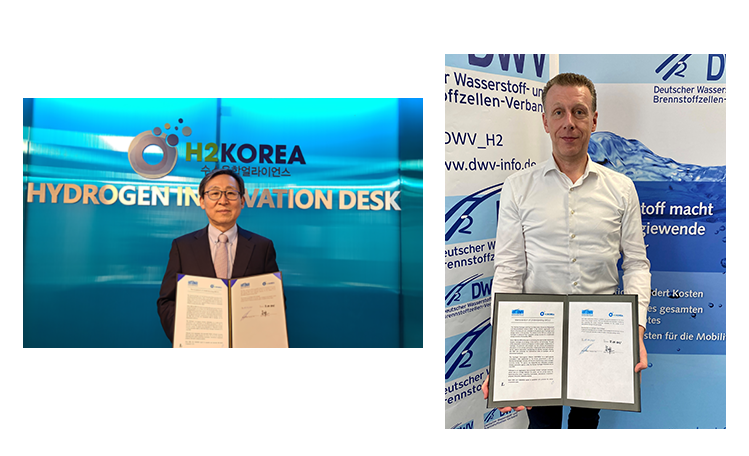 fuel cells works, H2KOREA and German Hydrogen and Fuel Cell Association Agree on Cooperation