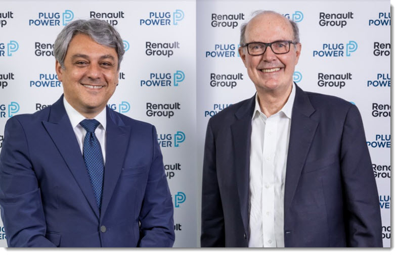 Fuel cells works, HYVIA: Renault Group and Plug Power's Joint Venture Leads the Way to a Complete Ecosystem of Fuel Cell Powered LCVS, Green Hydrogen and Refueling Stations Across Europe