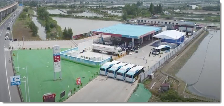 Fuel cells works, hydrogen, Suzhou JinHong Gas Co., fuel cells