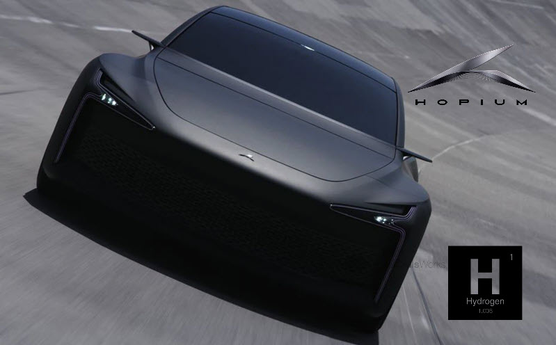 Fuel cells works, Hopium Unveils Its Hydrogen-Powered Sedan Prototype and Opens the First 1000 Pre-Orders