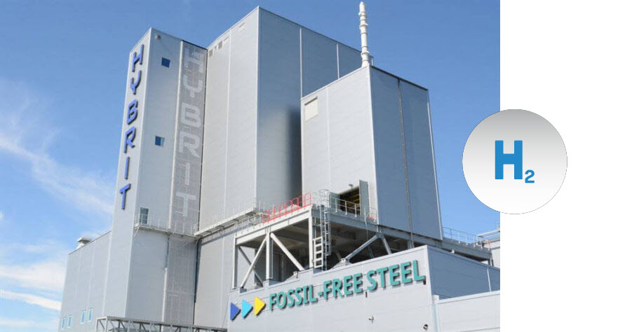 Fuel cells works, HYBRIT: SSAB, LKAB and Vattenfall First in the World With Hydrogen-Reduced Sponge Iron