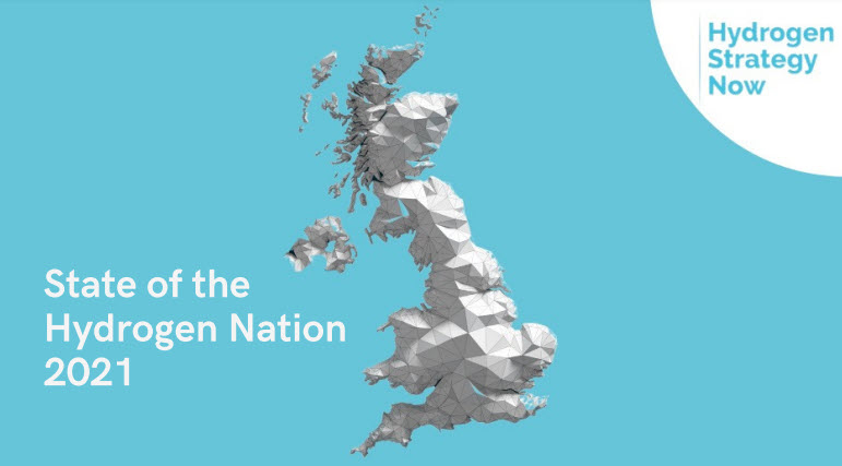 Hydrogen Strategy Now UK State of the Hydrogen Nation 2021