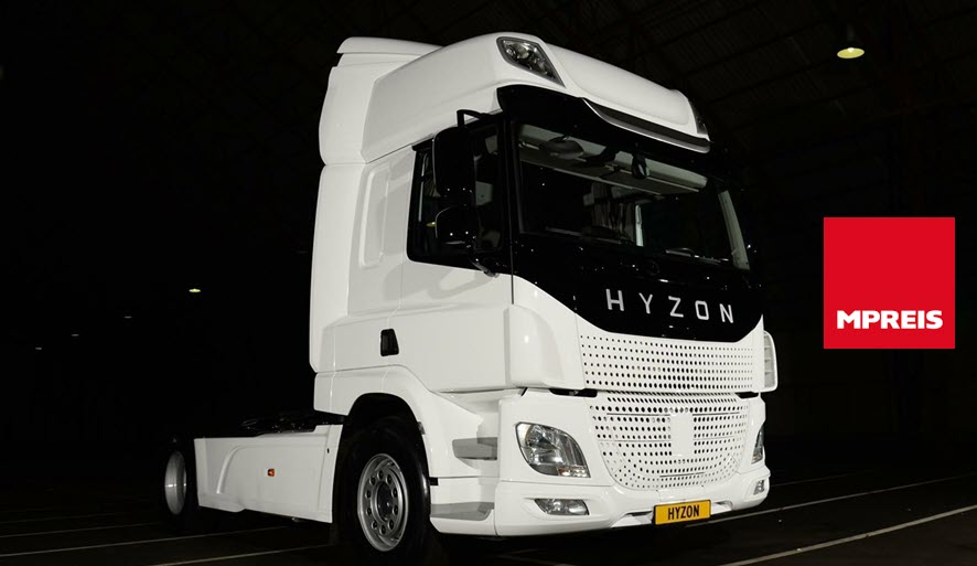 Fuel cells works, Hyzon Motors Announces Order for Up to 70 Hydrogen Trucks for Austrian Supermarket Chain