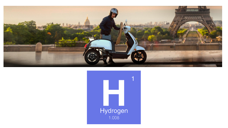 Fuel cells works, In France Scooters are Running on Hydrogen Cartridges