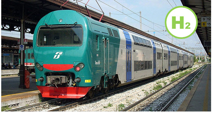 Fuel cells works, Italy - Approval of Hydrogen Trains on Cassino, Sora, Avezzano Lines