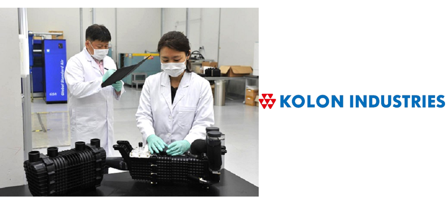 Fuel cells works, Kolon Industries Targeting the Global Hydrogen Mobility Market With Hyundai Contract