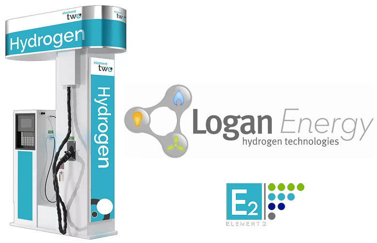 Fuel cells works, Logan Energy to Create 100 Jobs in Significant New Hydrogen Refuelling Partnership With Element 2