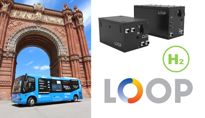 Fuel cells works, Loop Energy Fuel Cells to Fuel 8-Meter Minibus with Mobility & Innovation a.s. in Slovakia