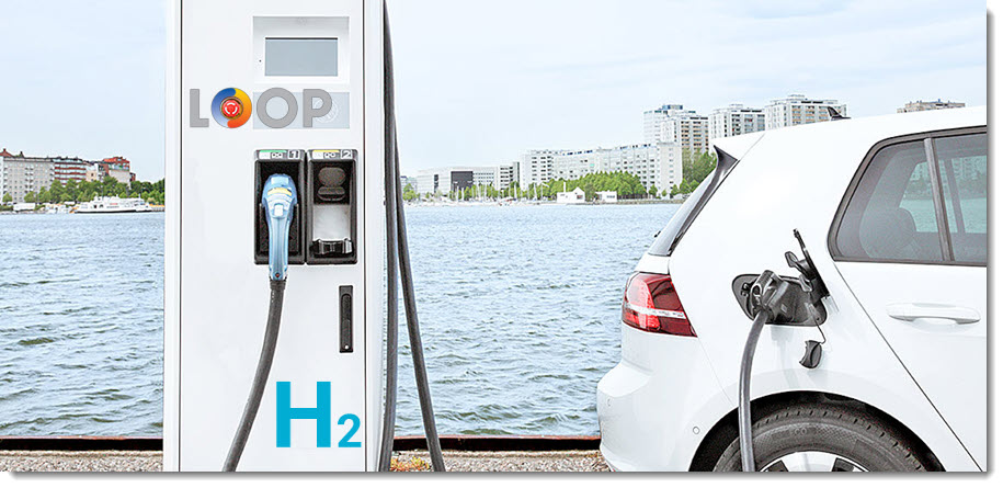 Fuel cells works, Loop Energy and GreenCore Partner to Combine Best-in-class Technologies in Next Generation, Hydrogen-powered EV Chargers
