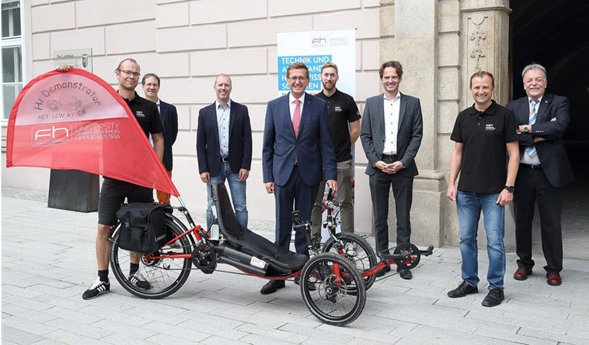Fuel cells works, Friday Fallback Story: Mobility of the Future with FH Oberösterreich Hydrogen Recumbent Trike
