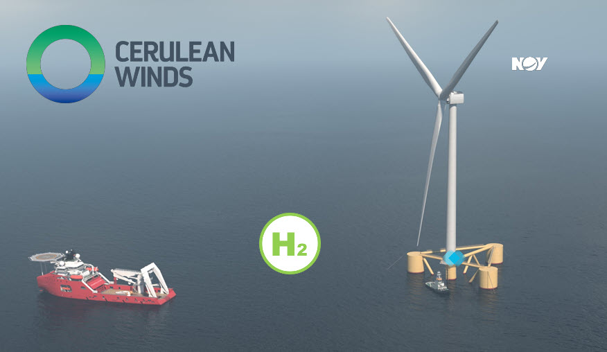 Fuel Cells Works, NOV Selected as the First Partner for Cerulian Winds' Floating Wind and Hydrogen Project Off the Coast of Scotland