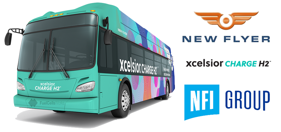 Fuel cells works, San Francisco Bay Area's AC Transit Orders an Additional 20 Fuel Cell-Electric Buses from NFI's New Flyer