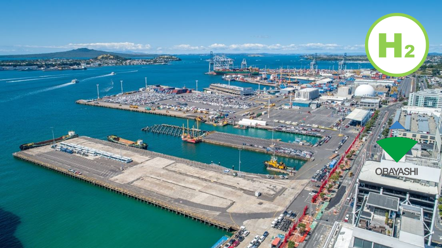 Fuel Cells Works, Obayashi Corporation selected as equity partner for Hydrogen Refuelling Station Project by Ports of Auckland Limited