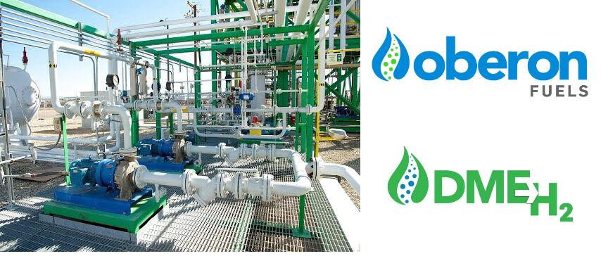 Fuel cells works, Oberon Fuels, hydrogen, dme, fuel cells