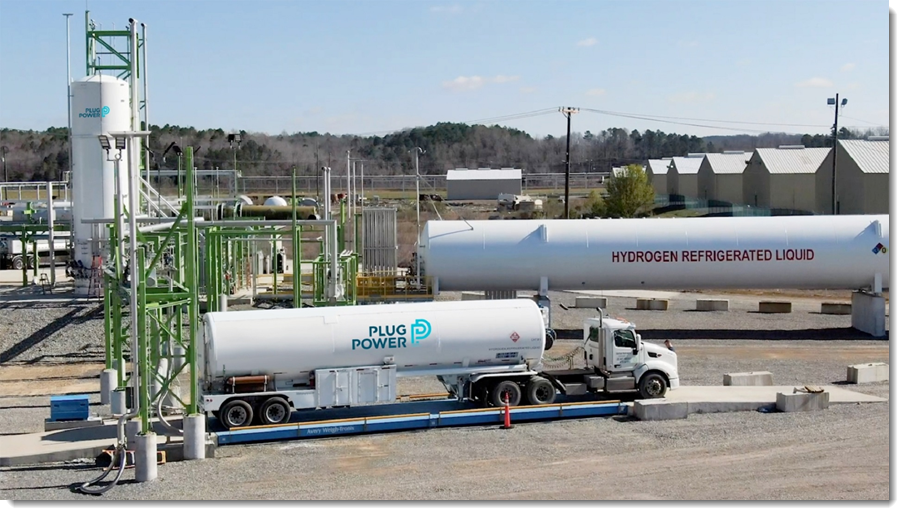 Fuel cells works, Plug Power Announces Green Hydrogen Plant In Camden County, Georgia