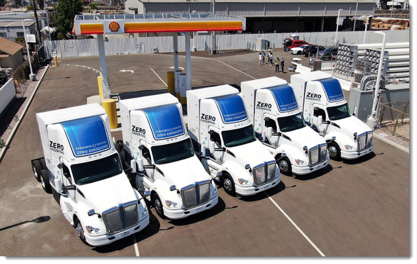 Fuel cells works, Port of Los Angeles Rolls Out Hydrogen Fuel Cell Electric Freight Demonstration