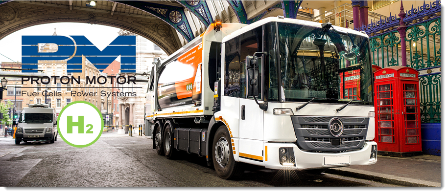 Proton Motor and Electra to Develop Zero Emission Fuel Cell Truck Market in the UK and Ireland 2