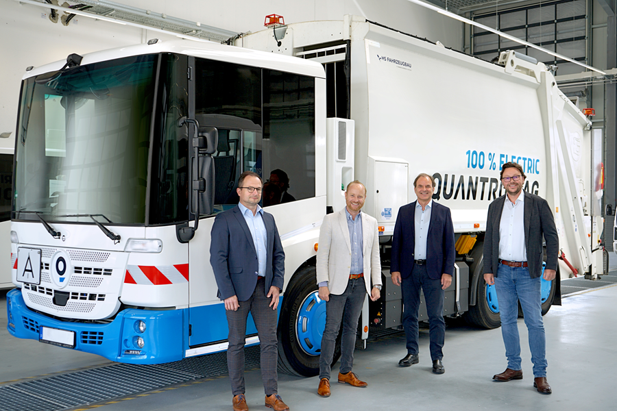 Fuel cells works, Quantron AG Cooperates with H2Go GmbH