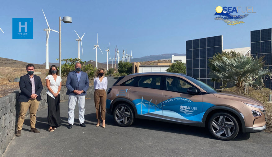 Seafuel First Hydrogen Vehicle