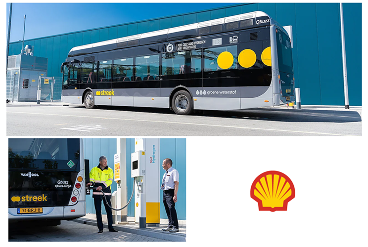 Fuel cells works, Shell Opens Its First Operational Hydrogen Filling Point in the World for Intercity Buses for Groningen Drenthe Public Transport Agency