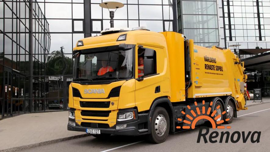 Fuel cells works, Sweden's First Hydrogen-Powered Garbage Truck is now Rolling in Gothenburg