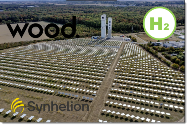 FuelCellsWorks, Synhelion Partners with Wood to Advance Solar Hydrogen