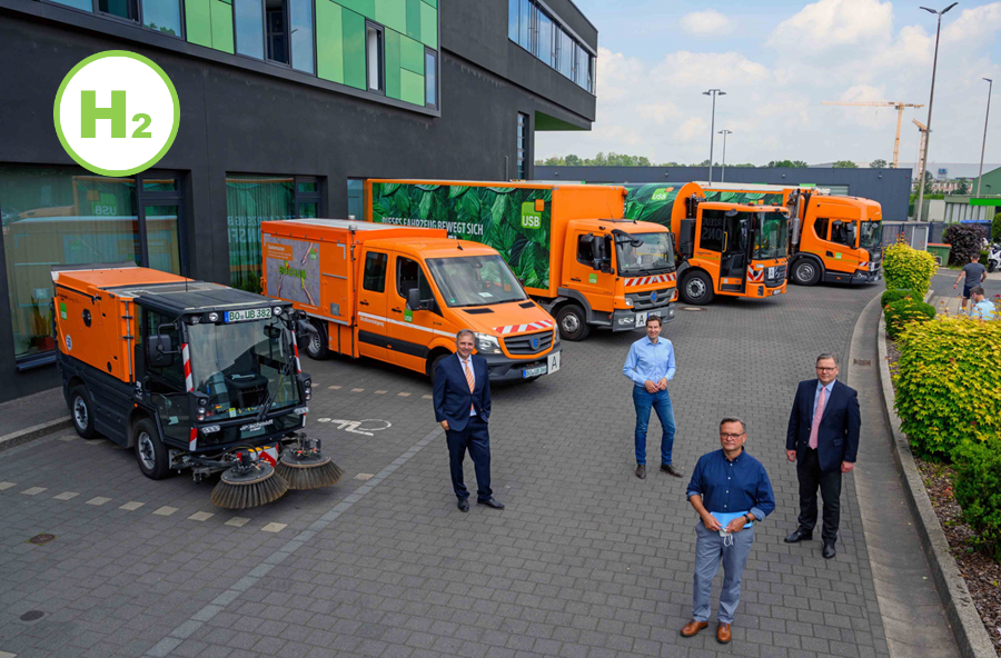 Fuel cells works, Umweltservice Bochum Zero Emission Refuse Collection Vehicles to its Fleet that Include Hydrogen