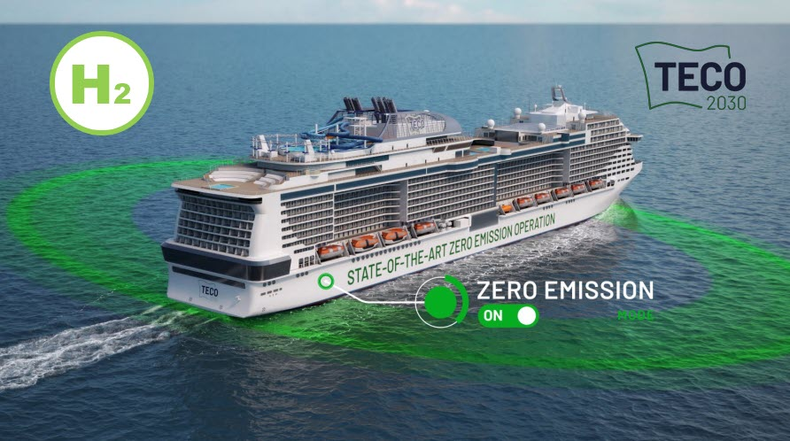 Fuel cells works, hydrogen, With TECO 2030 Marine Fuel Cell Engines, Ships Can Enter Ports Emissions-Free