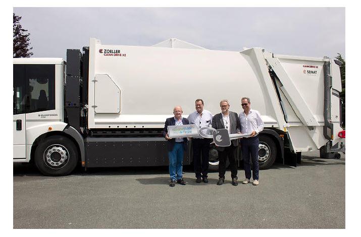 Fuel Cells Works, A Hydrogen Garbage Truck Arrives for Sorigny