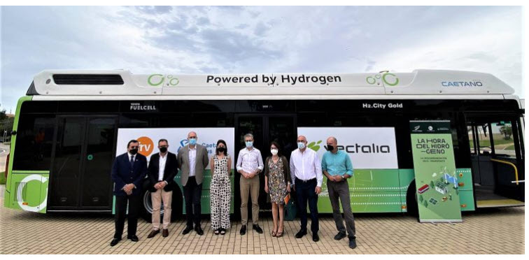 fuel cells works, Abdul Latif Jameel Energy's FRV and Vectalia Partner to Develop First Green Hydrogen-Powered Bus Transport System in Spain