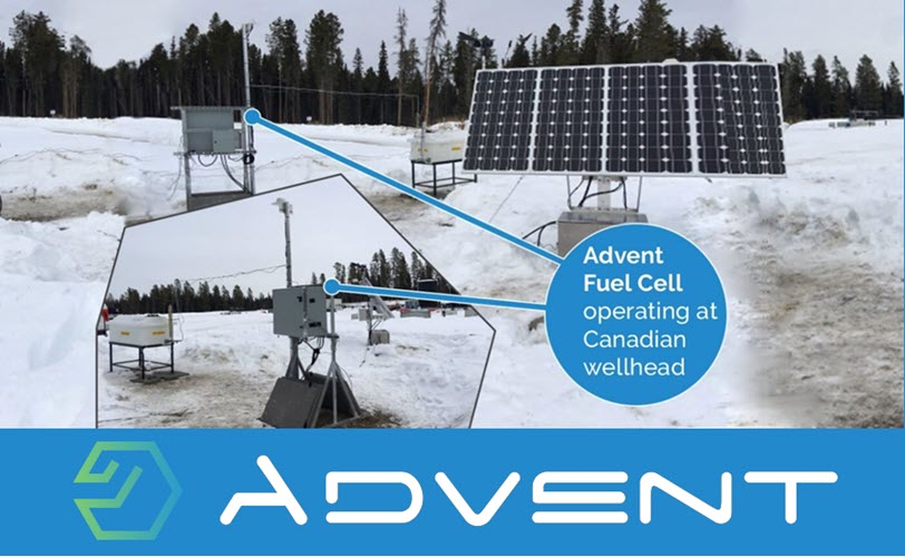 Fuel Cells Works, Advent Technologies Launches M-ZERØ™ Fuel Cells To Significantly Cut Wellhead Methane Emissions