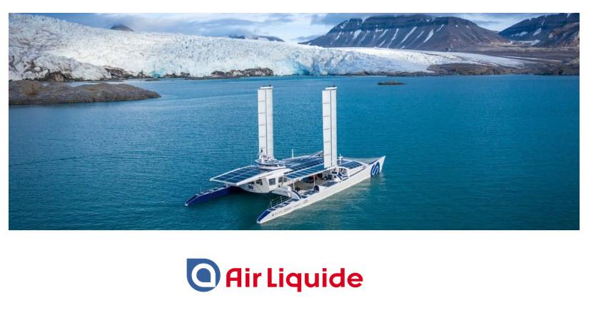 fuel cells works, Air Liquide Becomes Main Partner of Hydrogen Vessel Energy Observer