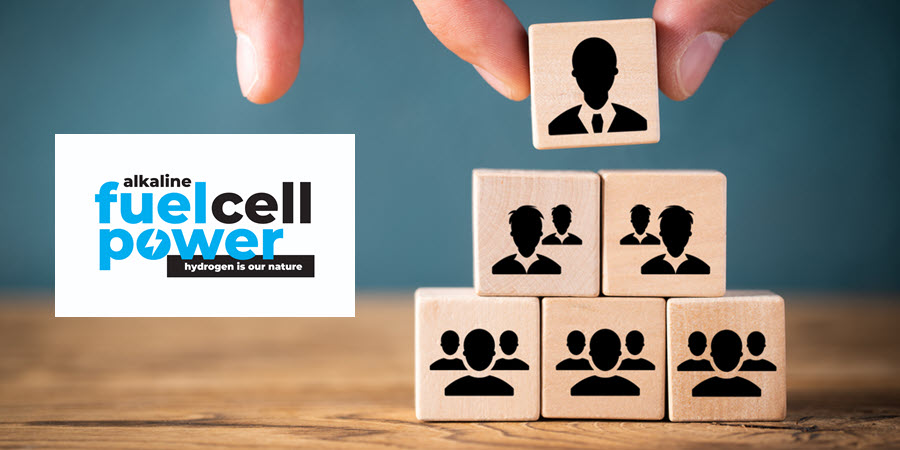 Fuel Cells Works, Alkaline Fuel Cell Power Corp. Announces Key Management Appointments