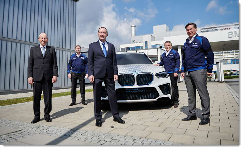 fuel cells works, Hydrogen Drive, Electromobility and Semiconductors: EU Commissioner Breton at BMW and Infineon in Munich