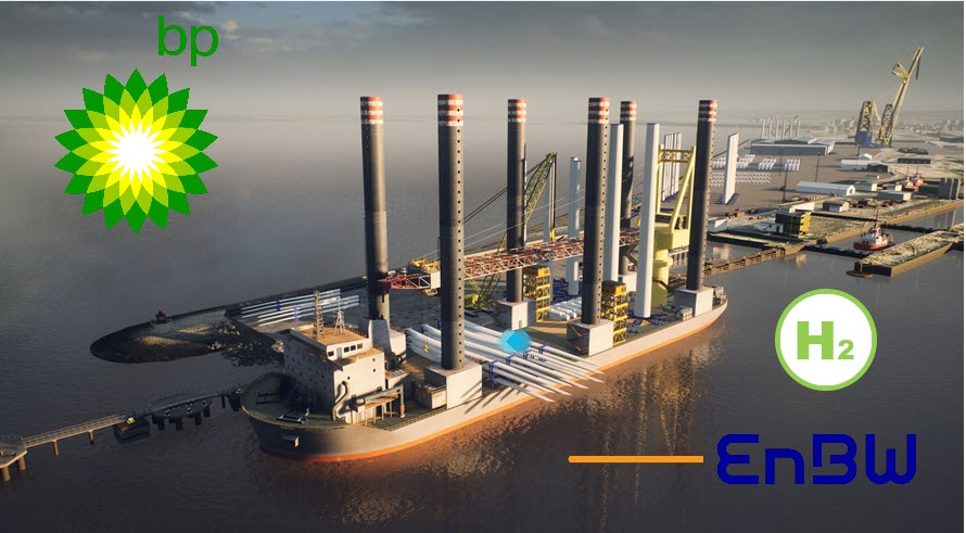 fuel cells works, BP, EnBW Submit-Transformational-Bid-For-Scottish Offshore Wind Lease Wind In Support Of Green Hydrogen Production