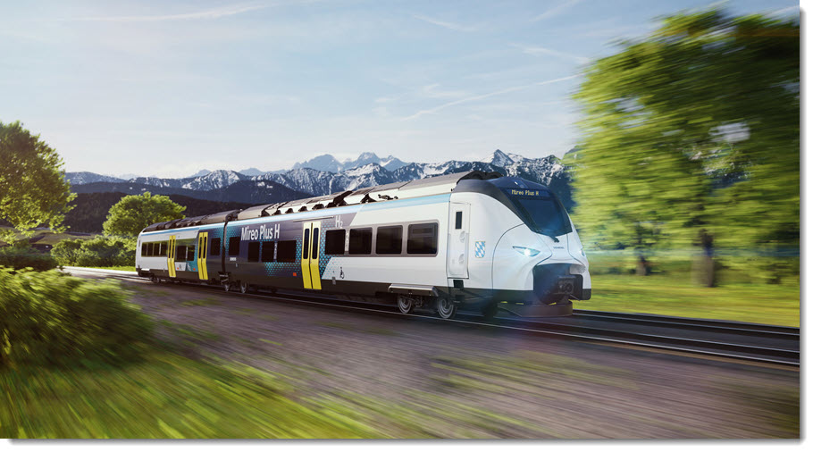 Fuel Cells Works, Ballard Receives Order for Fuel Cell Modules to Power Trial Operation of Siemens Mireo Plus H Train