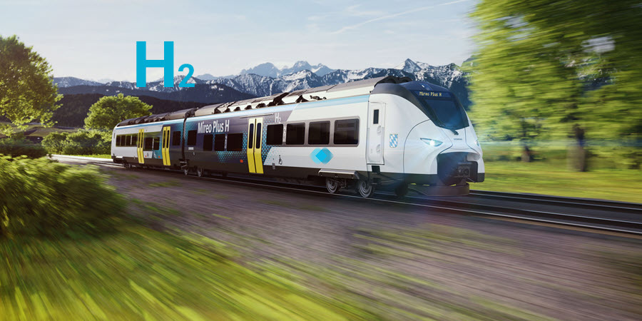 fuel cells works, Siemens and State of Bavaria Support Hydrogen-Powered Train