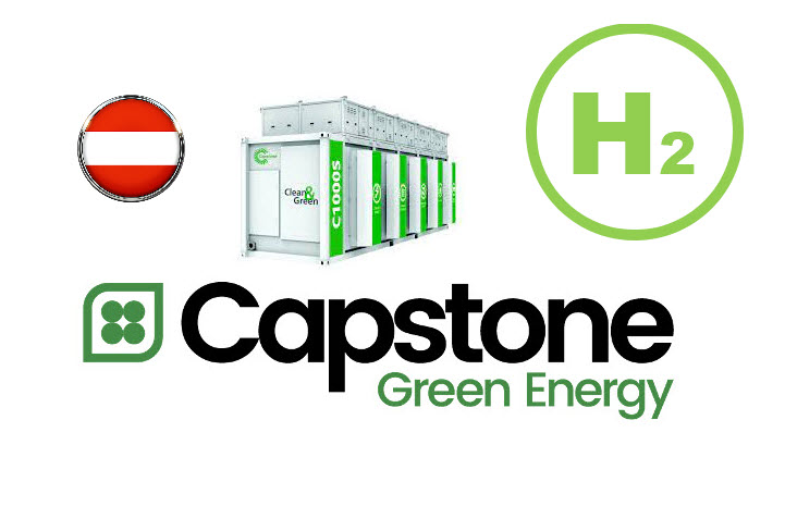 Fuel Cells Works, Capstone Green Energy To Provide Hydrogen Blend Microturbines for Industrial Application in Europe